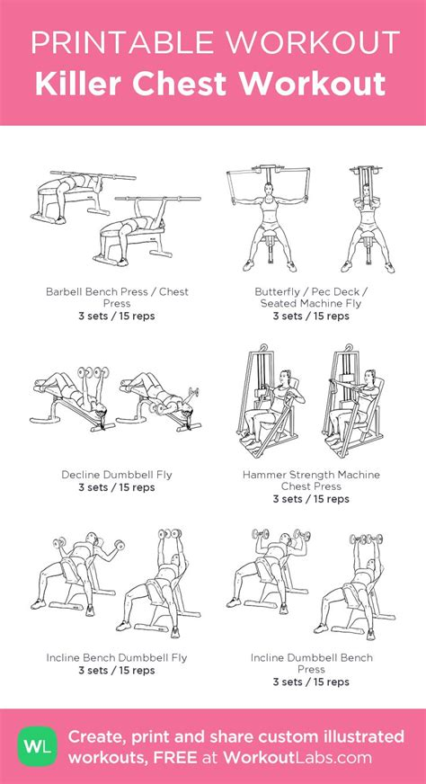 25 best ideas about killer chest workout on