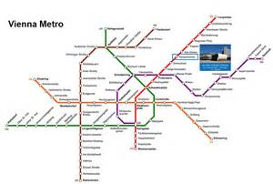 Vienna Subway Map by Crm 2016 Location