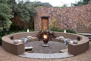 Sunken Backyard Fire Pit Ideas For Bomas Sa Garden And Home