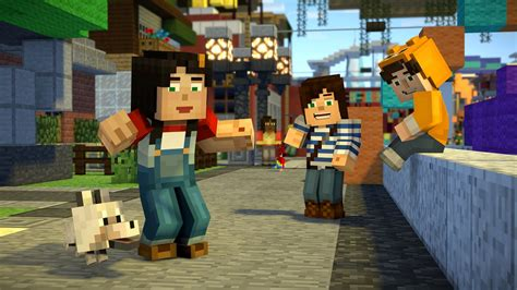 Ps4 Minecraf Story Season2 minecraft story mode season 2 s premiere episode in residence releases in july vg247