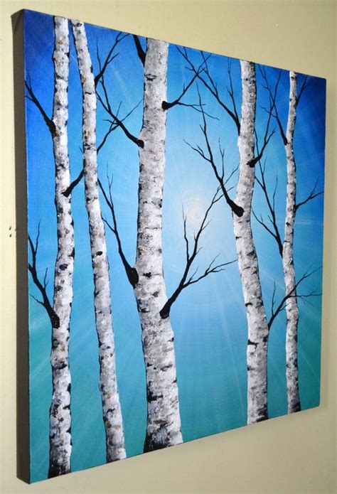 best 25 birch tree ideas on diy tree painting paintings of trees and abstract