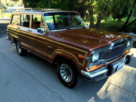 1982 Jeep Wagoneer Find Used Beautiful 1982 Jeep Limited Grand Wagoneer In