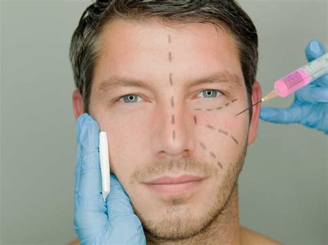 plastic surgeon men want cosmetic surgery to boost their