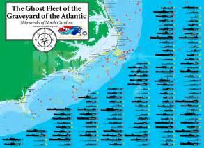 carolina shipwreck map ghostfleet