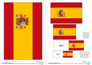 Spain Flag Printables Printable Spain Flag