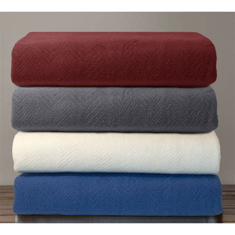 Blankets For by Hotel Luxury Cotton Thermal Blanket Ebay