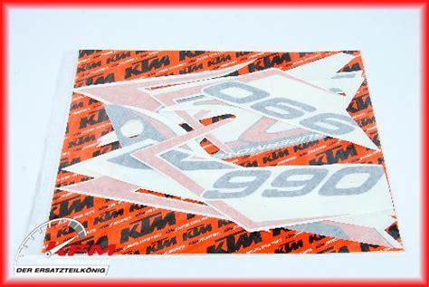 Ktm 990 Smt Aufkleber by Ktm 990 Supermoto R 2009 2013 Aufkleber Dekor Dekorsatz