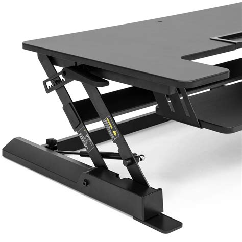 height adjustable standing desk monitor riser 36 quot sit to