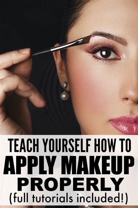 Blush Application Tutorial by 8 Tutorials To Teach You How To Apply Make Up Like A Pro