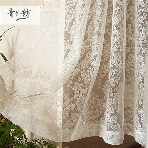 Lace curtains french window bedroom kitchen curtains 145 180 250cm jpg