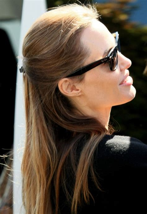 holiday hairstyles for long straight hair 14 angelina jolie hairstyles popular haircuts
