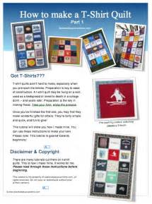 Directions For T Shirt Quilt by T Shirt Quilt Tutorial For Beginners Sew Sew