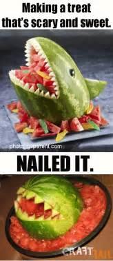 Toaster Oven Cookie Watermelon Shark A Deep Sea Disaster Craftfail