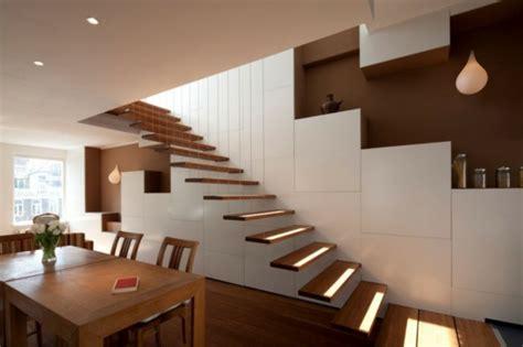 innentreppe selber bauen freitragende treppe coole ideen archzine net