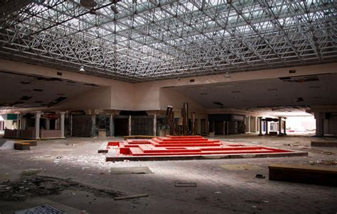rolling acres mall snow gallery surreal photos of abandoned snow filled malls show the
