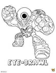 eye baril est un coloriage de skylanders