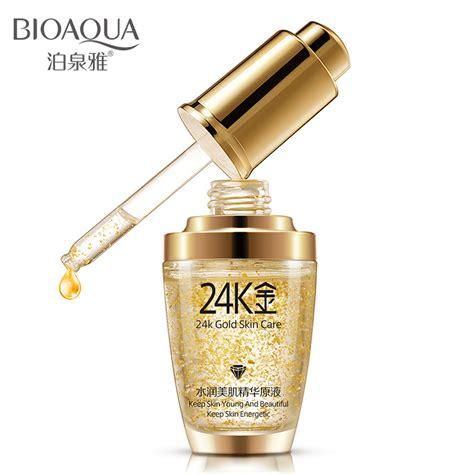 Berapa Whitening Serum Gold bioaqua 24k gold white moisturizing serum 30ml