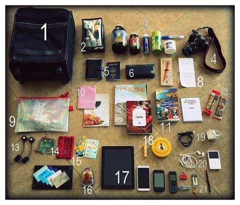 cabin crew bags flight attendants unzip what s really inside a flight