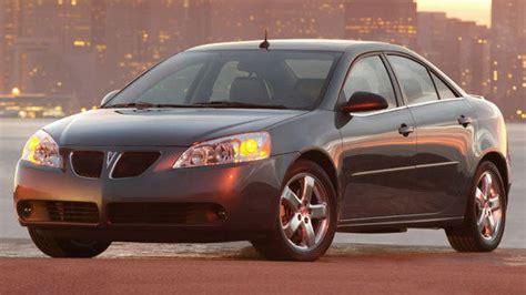 2008 pontiac g6 recall probe of 550k pontiac g6 sedans step closer to recall