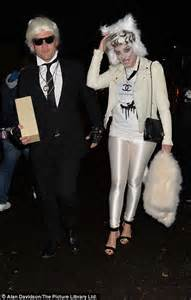 X Factors Rhydian Is Karl Lagerfeld by Willoughby Winkleman And The Linekers Lead