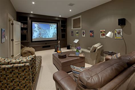 media room paint colors home theater traditional with beige bean bags brown beeyoutifullife