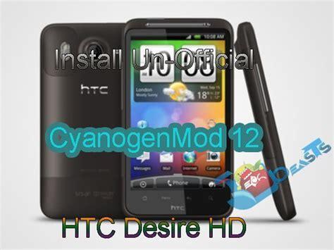 install themes htc desire hd install un official cyanogenmod 12 on htc desire hd