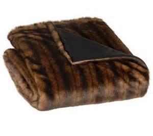 Dennis Basso Faux Fur Throw Dennis Basso 55 X 68 Oversized Faux Fur Throw Qvc Com