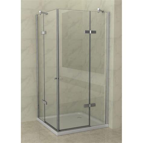 cabine doccia in vetro cabina doccia 2 ante battenti vetro 8 mm in offerta speciale