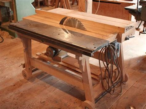 firewood saw bench dad s homemade table saw