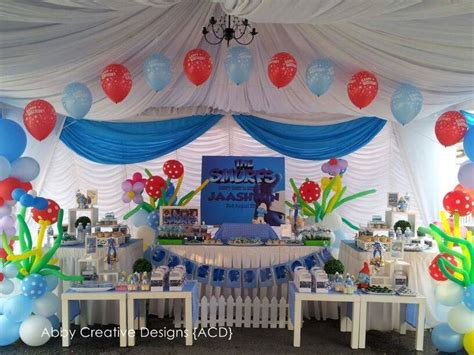 theme smurfy smurfs its more than just a party