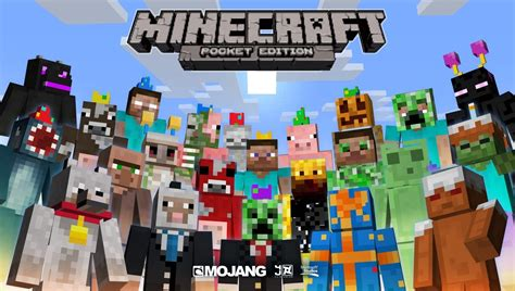 how to get minecraft pe for free android minecraft pe how to get all the skins packs for free android