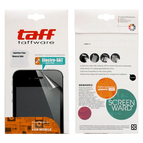 taff invisible shield screen protector for blackberry