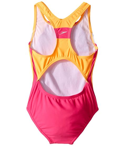 speedo one piece swimsuit kids speedo kids infinity splice one piece swimsuit little