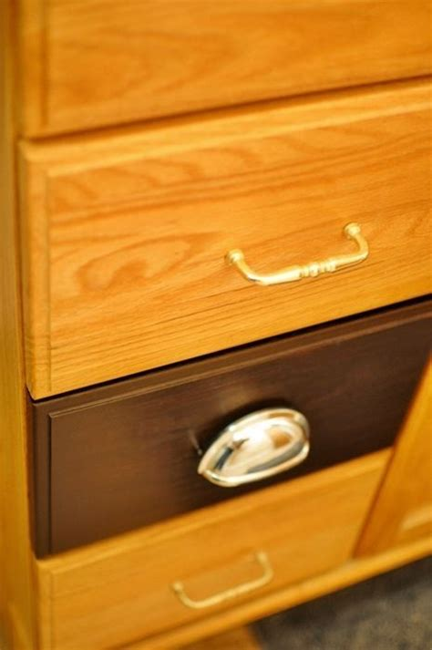 Staining Veneer Cabinets by Of Espresso Diy Kitchen Stains Honey Oak