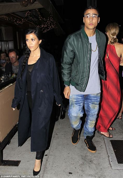 Miller And Combs More Than Just Friends by Kourtney With Diddy S Quincy Combs Just