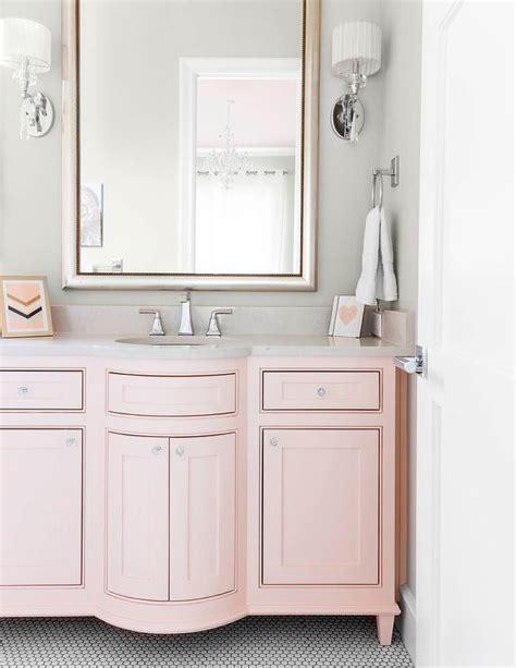 Pink Bathroom Vanity Interior Design Inspiration Photos By Robert Elliott Custom Homes