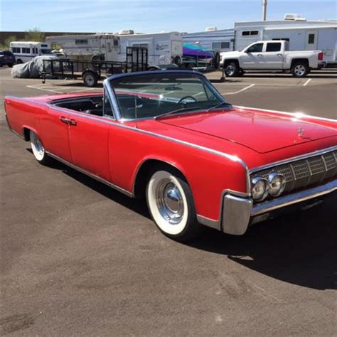 lincoln az 1964 lincoln continental convertible for sale magnusson