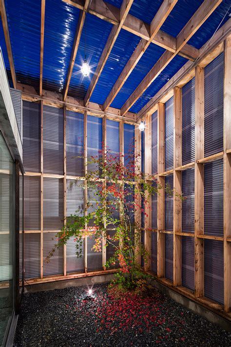 designboom japan house garage terrace house in kyoto by yoshiaki yamashita