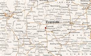 map of evansville indiana evansville location guide