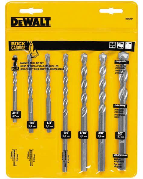 Fatools Sdjf250 J Line Screwdriver Tip Flat Tip 3x250 dewalt dw5207 percussion masonry drill bit set