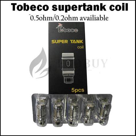 Tobeco Tank Coil 0 2 Ohm 100 original tobeco tank coils 0 2ohm 0 5ohm