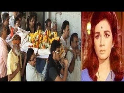 film actress nanda funeral bollywood veteran actress nanda s funeral youtube