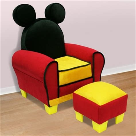 Mickey Mouse Toddler Chair by Disney Mickey Mouse Icon Toddler Chair Ottoman By Delta