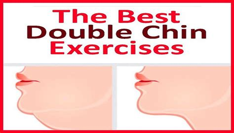 double chin exercises the best double chin exercises fitness workouts exercises