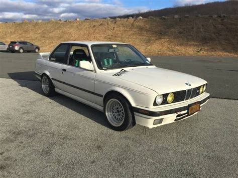 white 2 door bmw 1990 white bmw 325i coupe e30 2 door 2 5l manual for sale