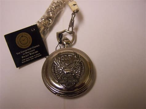 Harley Davidson Pocket Watches harley davidson bar shield eagle franklin mint pocket