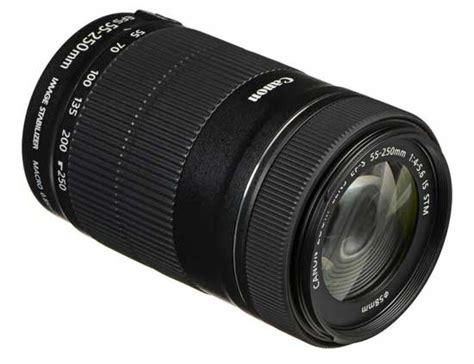 Lensa Canon Ef S 55 250mm F jual lensa canon ef s 55 250mm f 4 5 6 is stm harga terbaik