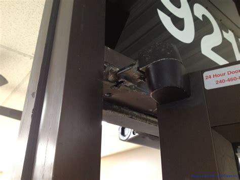 Commercial Door Hinge Repair commercial door replace king locksmith and doors inc dc