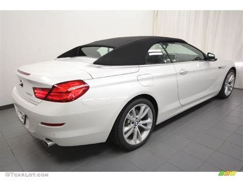 Mineral White Metallic 2012 BMW 6 Series 640i Convertible