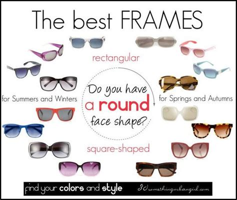 Frame Design For Round Face | 149 best images about choosing perfect eyeglasses on